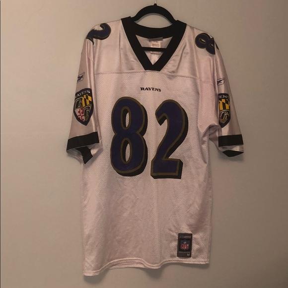 buy popular 212ed ecce8 Men's M Ravens Shannon Sharpe White Jersey